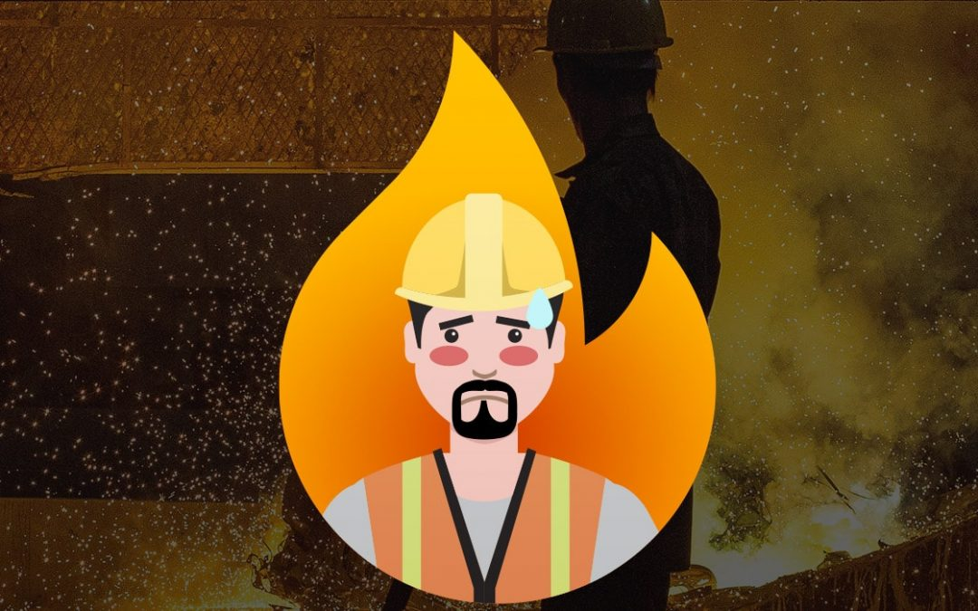 Las temperaturas extremas como el calor afectan el desempeño laboral.